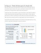 [Công cụ] – thước đo hiệu quả tỷ lệ chuyển đổi