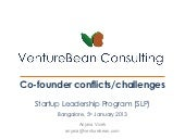 Co founder conflicts & challenges