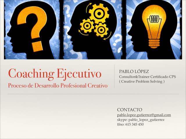 Coaching pablo lópez 2014