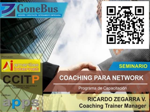 Coaching para networks