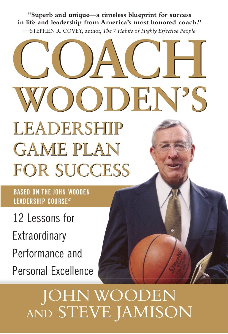 Coach Woodens Leadership Game Plan For Success