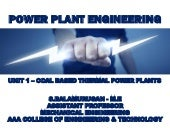 COAL BASED POWER PLANT UNIT 1 - POWER PLANT ENGINEERING