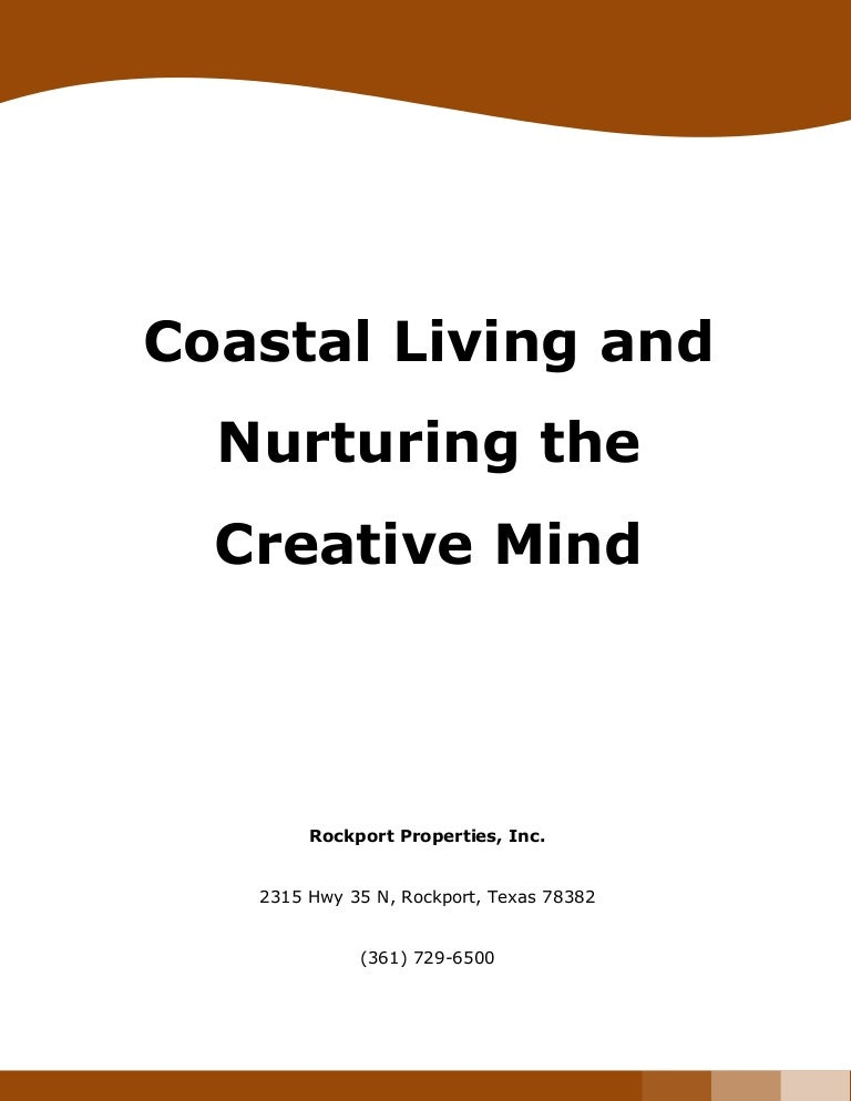 nurturing creative mind essay Free nurture papers, essays, and research papers creative talents and the nature-nurture controversy - throughout the early 1900s, the nature-nurture debate (also referred to as heredity-environment and maturation-learning) was the center of lively controversy.