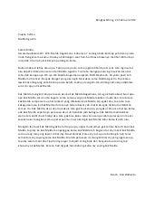 Surat Untuk Ibu Juara 3 Tingkat Nasional