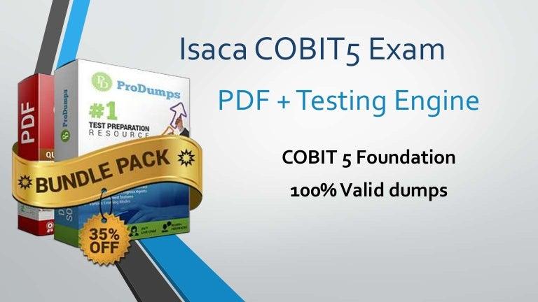 how to pass cobit 5 exam