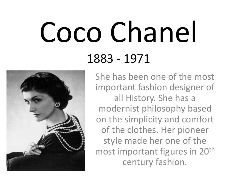 c09b823614a Coco Chanel Websites Information