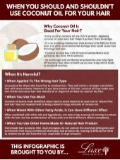 When You Should And Shouldn't Use Coconut Oil For Your Hair