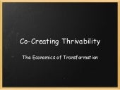 Co Creating Thrivability