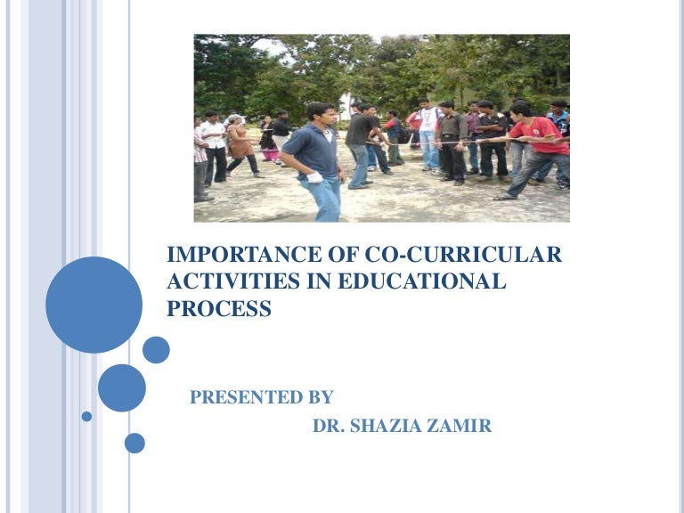 essays on the importance of co curricular activities Essays essays (student written)  a study and importance of extra curricular activity  as been mentioned in the article of co-curricular activities in school.
