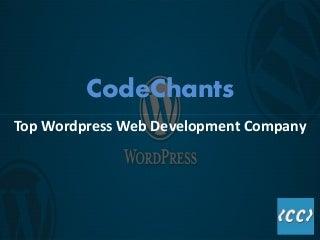 CodeChants - WordPress Development Services offered by CodeChants