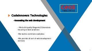 CodeInnovers Technologies