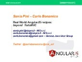 Real World AngularJS recipes: beyond TodoMVC