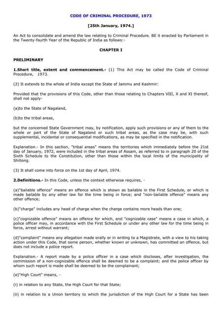 Criminal procedure code pdf notes on computer
