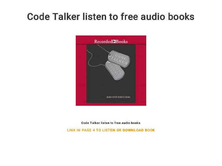 Code talker audiobook chapter 13