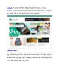 Codilight   powerful and modern blog magazine responsive theme