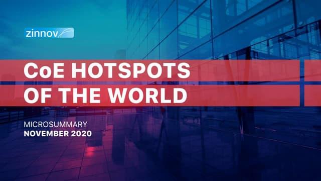 Location Analysis - CoE Hotspots of the World