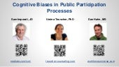 Cognitive biases and group decision making, pi works 2014