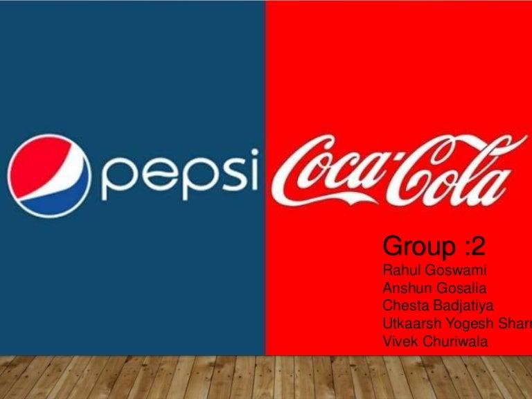 coke vs pepsi ppt