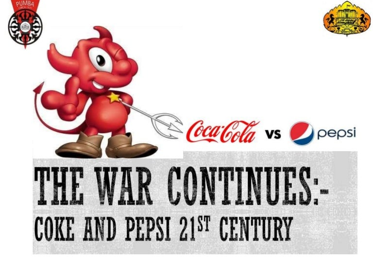 case analysis cola wars continue coke and Coca-cola and pepsi-cola began to experiment with new cola and non-cola flavors and a variety of packaging options in the 1960scola wars in 1950 became pepsi¶s ceo in 1963 under the leadership of new ceo donald kendall selling only their flagship brand.