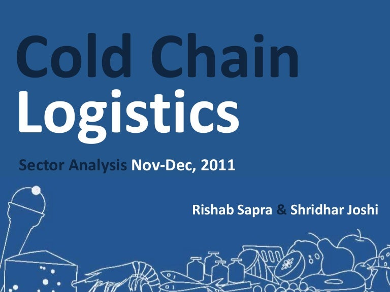 cold chain logistics india pdf free