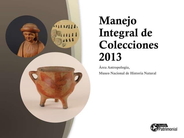 Coleccion Patrimonial MNHN