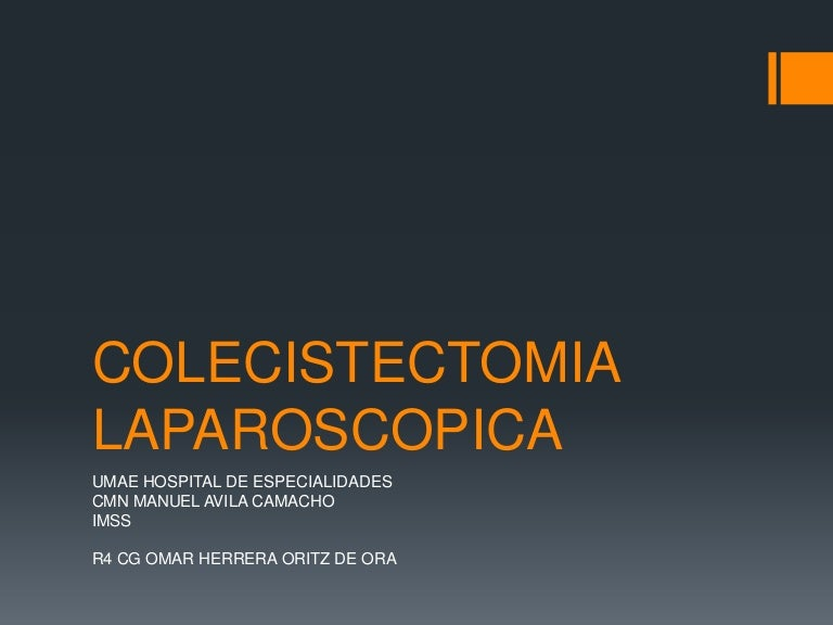 Colecistectomia laparoscopica
