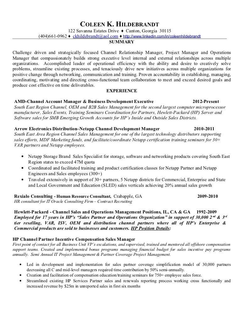regional marketing resume example field marketing food beverage - Software Sales Manager Resume