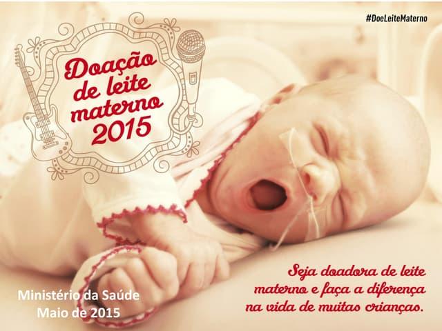 Campanha de Doação de Leite Materno 2015