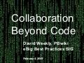 Collaboration Beyond Code