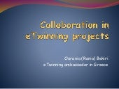 Collaboration in e twinning projects