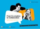 From co-creation to collaboration
