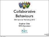 Collaborative behaviours