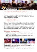 Collaborative enterprise cup 2014