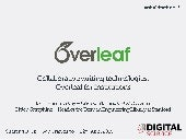 Collaborative writing technologies: Overleaf for institutions