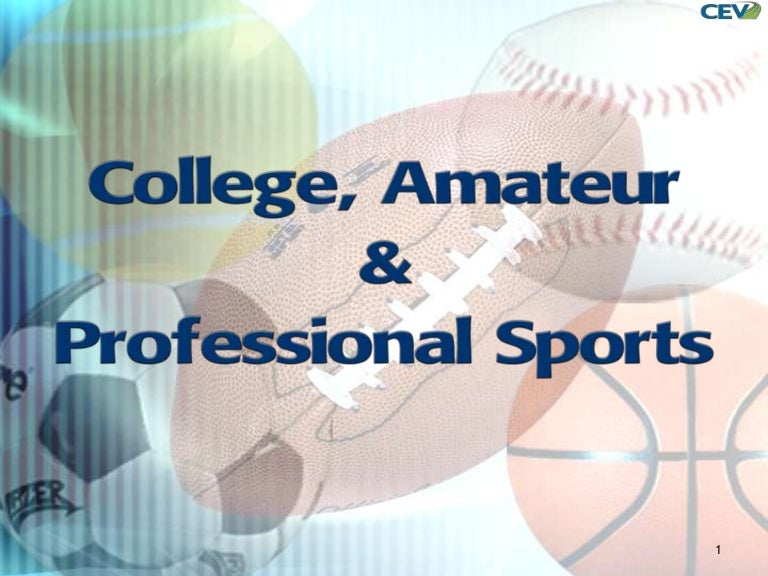 Amateur college sports