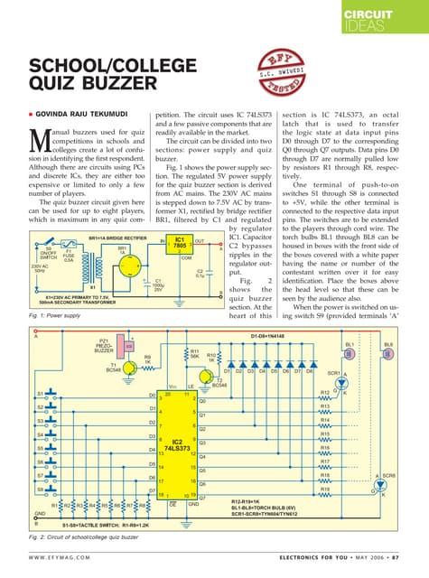 College quiz buzzer ccuart Image collections