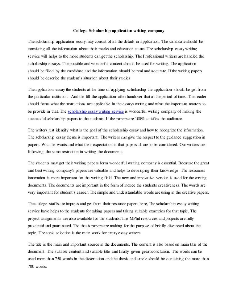 Essay about writers