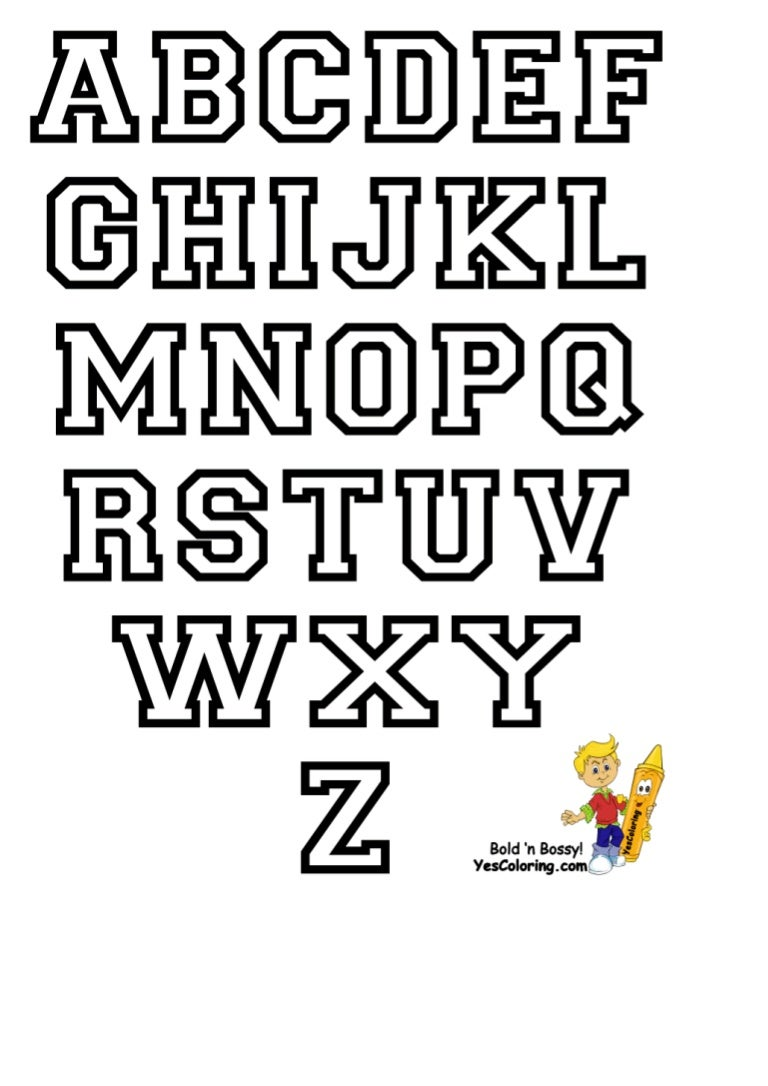 Collegiate alphabet only_letters_at_coloring-pages-book
