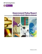 MIT TR - Colombia ICT Ecosystems - Innovation Policy Report - Rpt 2 - Mar 5 2014