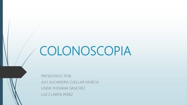 Examen alternativo a la colonoscopia