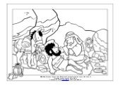 Coloring Page: The Parables of Jesus: The Good Samaritan