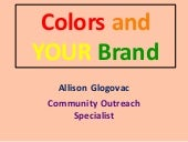 Colors & Your Brand