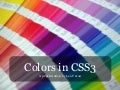 Colors In CSS3