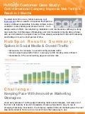 Case Study: International Industrial Company Improves Web Traffic & Reach in 3 Months