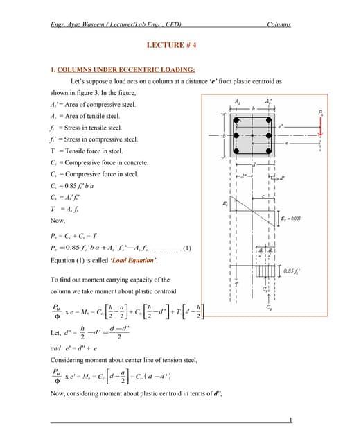 Columns lecture#4