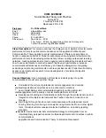Com 600 Syllabus Spring 2013 - Social Media Theory And Practice