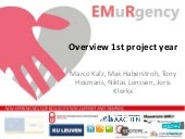 EMuRgency: New approaches for resuscitation support and training. Overview about the 1st project year.