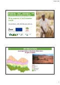 Combining land restoration and livelihoods - examples from Niger
