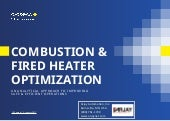 Combustion and Fired Heater Optimization