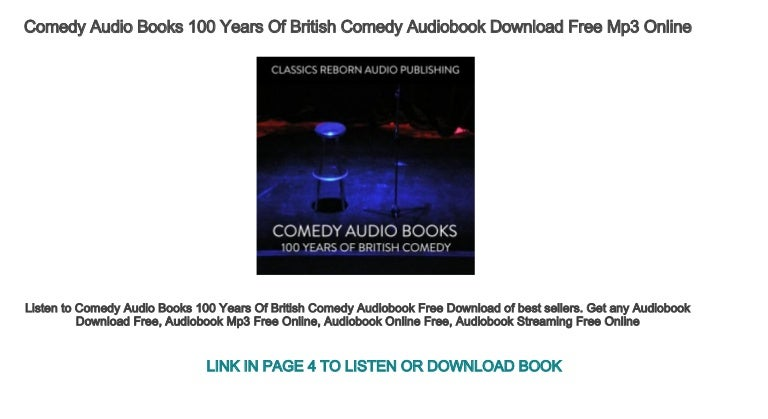 Comedy audio mp3 free download